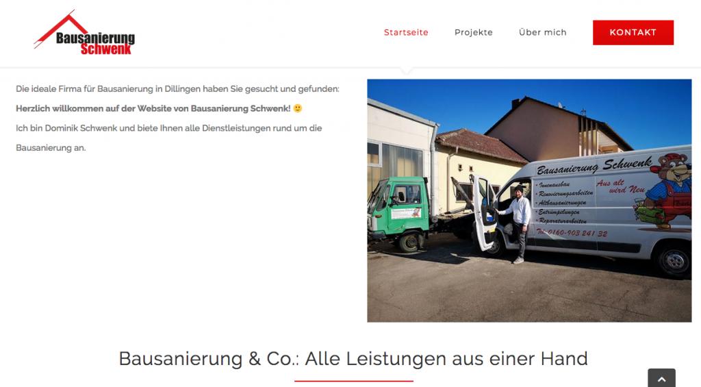 Bausanierung-Schwenk-Screenshot-Landingpage