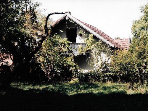 Altes, verfallendes Bauernhaus in den 90er Jahren, Hechenberg, Burghausen